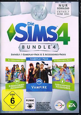 Einfach und sicher online bestellen: Die Sims 4: Addon Bundle Pack 4 in Österreich kaufen.