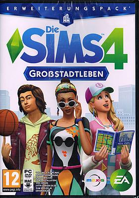 Einfach und sicher online bestellen: Die Sims 4: Großstadtleben Erweiterungspack (AT) in Österreich kaufen.