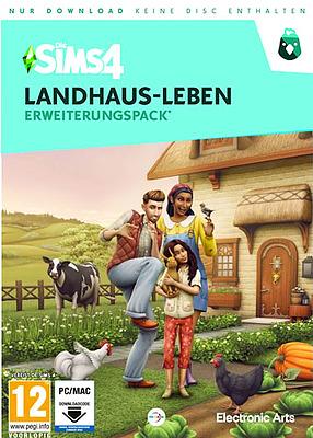 Einfach und sicher online bestellen: Die Sims 4 Landhaus Leben Addon (AT-PEGI) in Österreich kaufen.