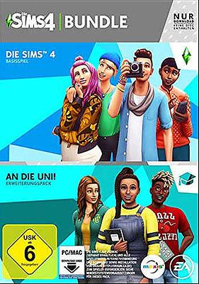 Einfach und sicher online bestellen: Die Sims 4 + An die Uni (AT-PEGI) in Österreich kaufen.