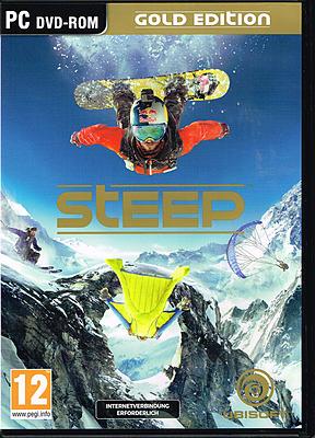Einfach und sicher online bestellen: Steep Gold Edition + 5 DLCs (AT-PEGI) in Österreich kaufen.