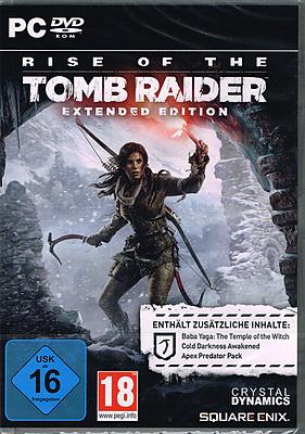 Einfach und sicher online bestellen: Rise of the Tomb Raider Extended Edition + 3 DLCs in Österreich kaufen.