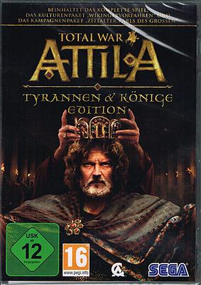 Einfach und sicher online bestellen: Total War: Attila - Tyrannen und Könige Edition in Österreich kaufen.