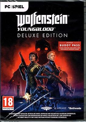 Einfach und sicher online bestellen: Wolfenstein: Youngblood Deluxe Edition + 2 DLCs in Österreich kaufen.