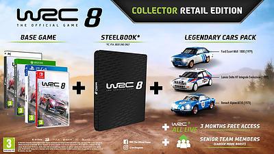 Einfach und sicher online bestellen: WRC 8 Collectors Edition (PEGI) in Österreich kaufen.