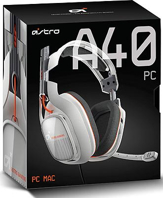 Einfach und sicher online bestellen: Astro Gaming A40 Headset Light Grey in Österreich kaufen.