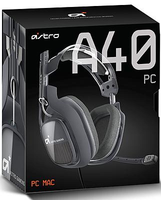 Einfach und sicher online bestellen: Astro Gaming A40 Headset Dark Grey in Österreich kaufen.