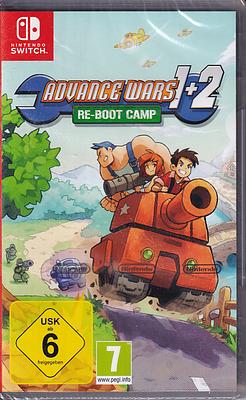 Einfach und sicher online bestellen: Advance Wars 1+2: Re-Boot Camp in Österreich kaufen.