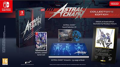Einfach und sicher online bestellen: Astral Chain Collectors Edition (PEGI) in Österreich kaufen.