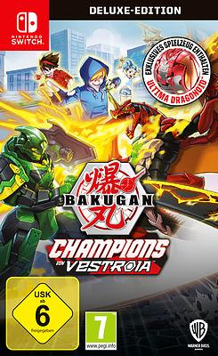 Einfach und sicher online bestellen: Bakugan: Champions of Vestoria Deluxe Edition in Österreich kaufen.