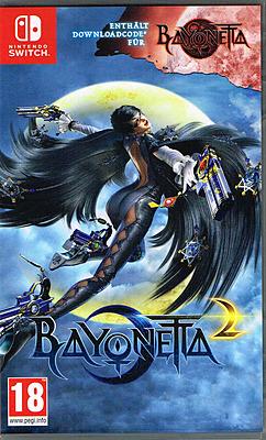 Einfach und sicher online bestellen: Bayonetta 2 + Bayonetta 1 DLC (AT-PEGI) in Österreich kaufen.