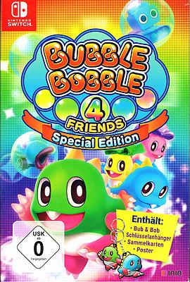 Einfach und sicher online bestellen: Bubble Bobble 4 Friends Special Edition in Österreich kaufen.
