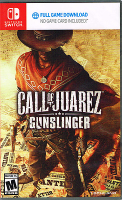 Einfach und sicher online bestellen: Call of Juarez Gunslinger (US-Import) in Österreich kaufen.
