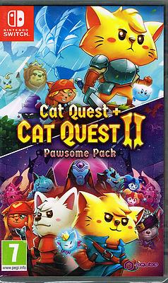 Einfach und sicher online bestellen: Cat Quest + Cat Quest 2 Pawsome Pack (AT-PEGI) in Österreich kaufen.