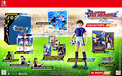 Einfach und sicher online bestellen: Captain Tsubasa: Rise of New Champions Collectors in Österreich kaufen.