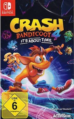 Einfach und sicher online bestellen: Crash Bandicoot 4: It's About Time (AT-PEGI) in Österreich kaufen.