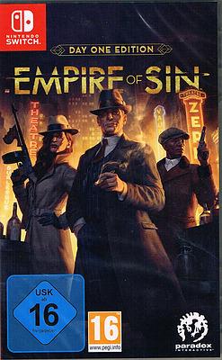 Einfach und sicher online bestellen: Empire of Sin Day One Edition in Österreich kaufen.