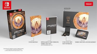 Einfach und sicher online bestellen: Fire Emblem: Three Houses - Limited Edition (AT) in Österreich kaufen.