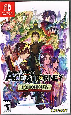 Einfach und sicher online bestellen: Great Ace Attorney Chronicles (US-Version) in Österreich kaufen.