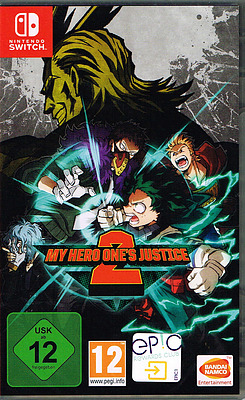 Einfach und sicher online bestellen: My Hero One's Justice 2 in Österreich kaufen.