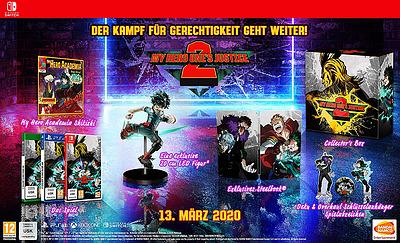 Einfach und sicher online bestellen: My Hero One's Justice 2 Collectors Edition (PEGI) in Österreich kaufen.