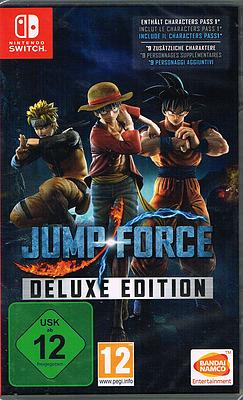 Einfach und sicher online bestellen: Jump Force Deluxe Edition in Österreich kaufen.