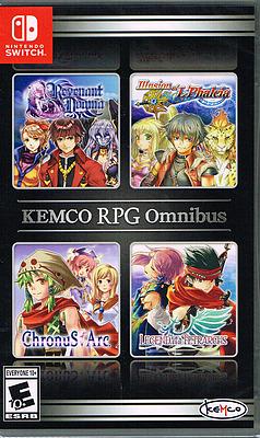 Einfach und sicher online bestellen: Kemco RPG Omnibus (US-Import) in Österreich kaufen.