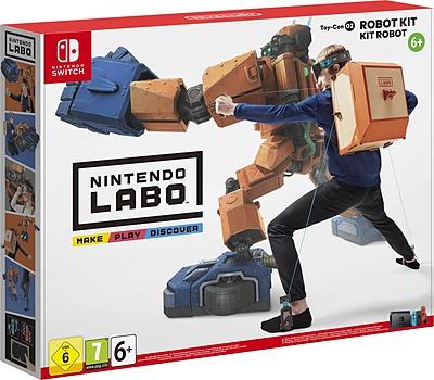 Einfach und sicher online bestellen: Nintendo Labo: Toy-Con 02 Robo-Set in Österreich kaufen.