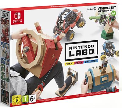 Einfach und sicher online bestellen: Nintendo Labo: Toy-Con 03 Vehicle Kit in Österreich kaufen.