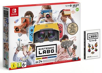 Einfach und sicher online bestellen: Nintendo Labo: Toy-Con 04 VR Set in Österreich kaufen.