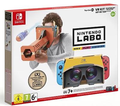 Einfach und sicher online bestellen: Nintendo Labo: Toy-Con 04 VR Set (Basis + Blaster) in Österreich kaufen.