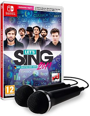 Einfach und sicher online bestellen: Let's Sing 2019 + 2 Micros in Österreich kaufen.
