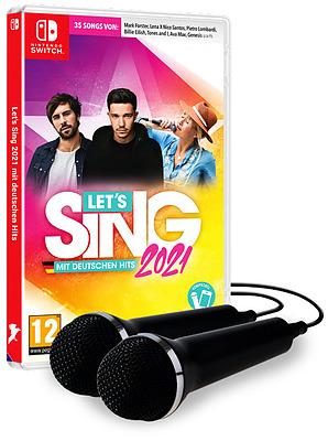 Einfach und sicher online bestellen: Let's Sing 2021 + 2 Mics in Österreich kaufen.