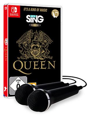 Einfach und sicher online bestellen: Lets Sing Queen + 2 Mics in Österreich kaufen.