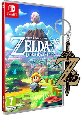 Einfach und sicher online bestellen: The Legend of Zelda: Link's Awakening + Keychain in Österreich kaufen.
