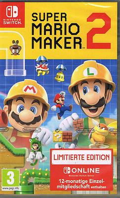 Einfach und sicher online bestellen: Super Mario Maker 2 Limited Edition (AT-PEGI) in Österreich kaufen.