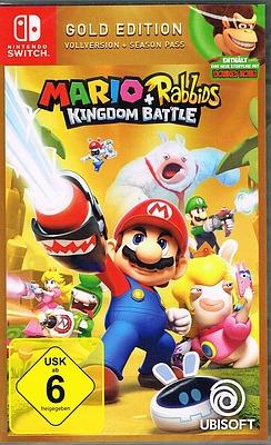 Einfach und sicher online bestellen: Mario + Rabbids Kingdom Battle Gold Edition in Österreich kaufen.