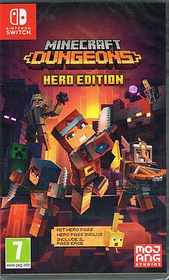 Einfach und sicher online bestellen: Minecraft Dungeons Hero Edition (AT-PEGI) in Österreich kaufen.