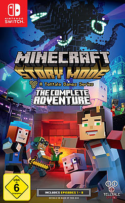 Einfach und sicher online bestellen: Minecraft: Story Mode: The Complete Adventure in Österreich kaufen.