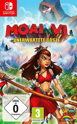 Einfach und sicher online bestellen: Moai 6 - Unerwartete Gäste in Österreich kaufen.