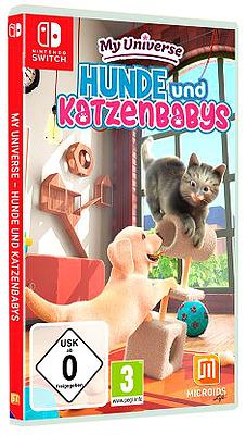 Einfach und sicher online bestellen: My Universe: Hunde und Katzenbabys in Österreich kaufen.