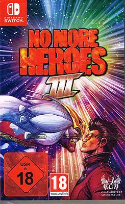 Einfach und sicher online bestellen: No More Heroes 3 (AT-PEGI) in Österreich kaufen.