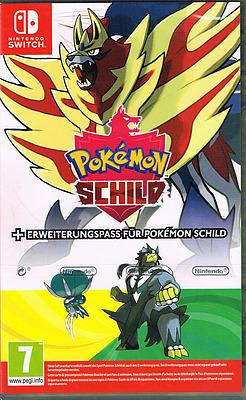 Einfach und sicher online bestellen: Pokémon Schild inkl. Erweiterungspass (AT-PEGI) in Österreich kaufen.