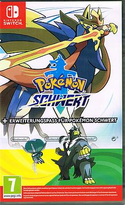 Einfach und sicher online bestellen: Pokémon Schwert inkl. Erweiterungspass (AT-PEGI) in Österreich kaufen.