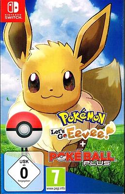 Einfach und sicher online bestellen: Pokémon: Let's Go, Evoli! + Pokeball Plus in Österreich kaufen.