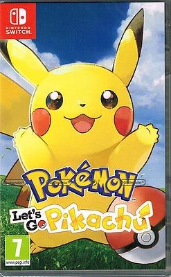 Einfach und sicher online bestellen: Pokémon: Let's Go, Pikachu! (AT-PEGI) in Österreich kaufen.