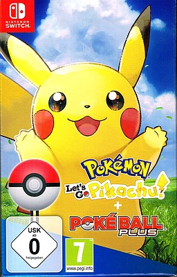 Einfach und sicher online bestellen: Pokémon: Let's Go, Pikachu! + Pokeball Plus in Österreich kaufen.