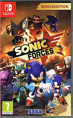 Einfach und sicher online bestellen: Sonic Forces Bonus Edition (AT-PEGI) in Österreich kaufen.