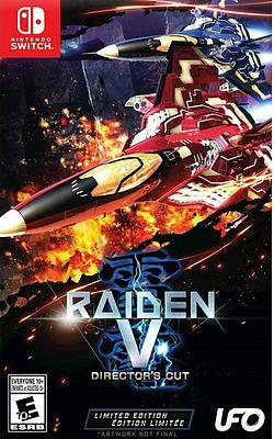 Einfach und sicher online bestellen: Raiden 5: Directors Cut Limited Edition in Österreich kaufen.