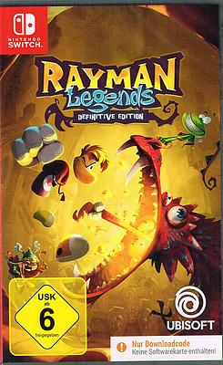 Einfach und sicher online bestellen: Rayman Legends Definitive Edition (AT-PEGI) in Österreich kaufen.